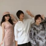 モデル久間田琳加 チーム青夏と久しぶりの記念撮影