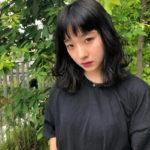 モデル大和屋穂香 髪を黒く染める、そしてボーリング
