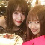 モデル前田希美 なちょすの誕生日をお祝い