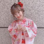モデル前田希美 浴衣撮影でマネージャーに駆け寄る姿が可愛い